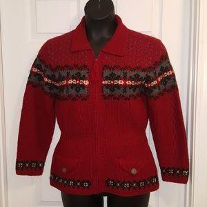 """Ralph Lauren """"Lauren"""" Sweater Cardigan"""